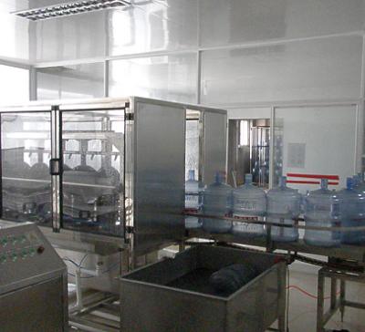 全自动桶装水灌装生产线